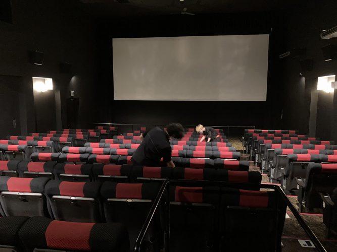<small>【実践して伝える 諏訪郡オススメ人と場所】</small><br> ~職場体験レポート~ 諏訪郡唯一の映画館「岡谷スカラ座」