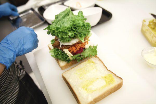 サンドイッチ レシピ