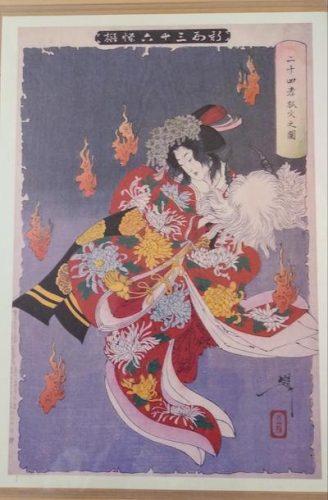 <small>諏訪の民話・伝説を巡る旅3</small><br>  ~浄瑠璃「本朝廿四孝」より、八重垣姫~