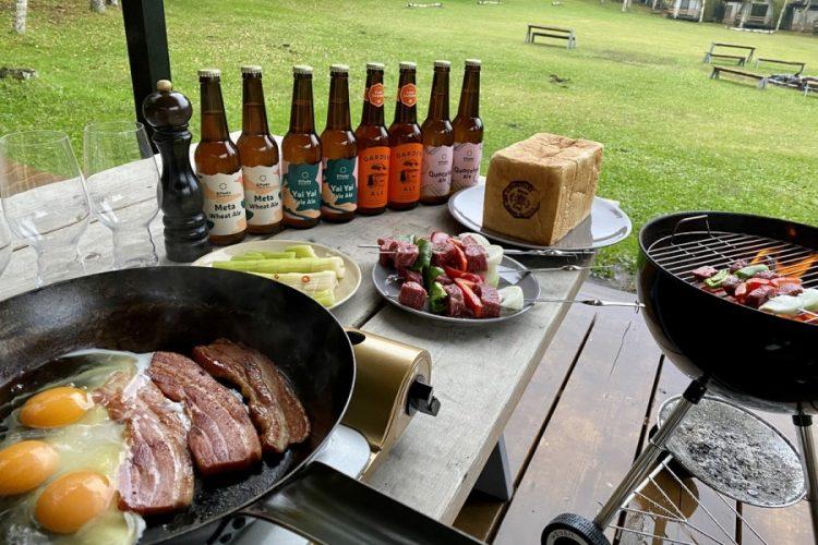 <small>八ヶ岳で最高に美味しいビールを飲もう</small><br>ビールオタクが造る究極のクラフトビール『エイトピークス』