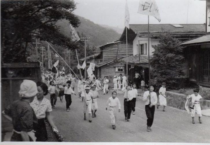 <small>セピア色の記憶7</small><br>「諏訪」神宮寺の稲虫祭